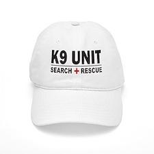 K9 Unit Search Rescue Sticker Baseball Cap