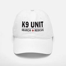 K9 Unit Search Rescue Sticker Cap