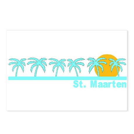 St. Maarten Postcards (Package of 8)