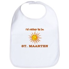 I'd Rather Be In St. Maarten Bib