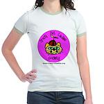 Women's Ringer T-Shirt - Silly CCLS Logo