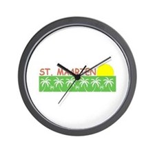 St. Maarten Wall Clock