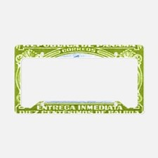 1929 Panama Bicycle Messenger License Plate Holder