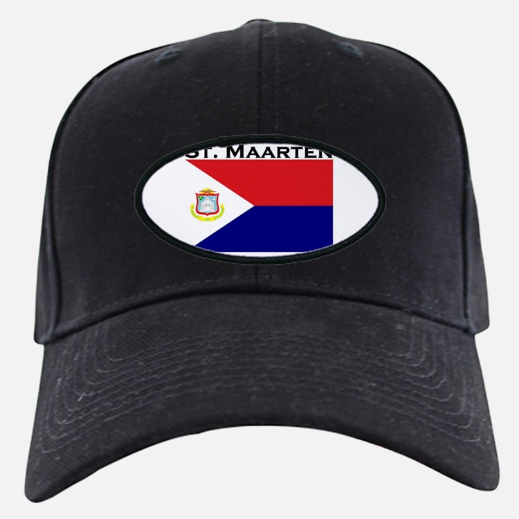 St. Maarten Flag Baseball Hat