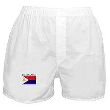 St. Maarten Flag Boxer Shorts