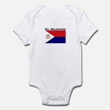 St. Maarten Flag Infant Bodysuit