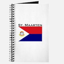 St. Maarten Flag Journal