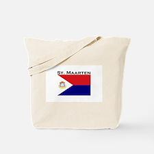 St. Maarten Flag Tote Bag