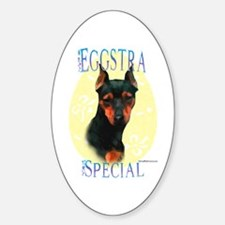 Eggstra Special Min Pin Oval Decal