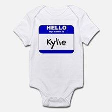 hello my name is kylie  Infant Bodysuit