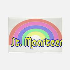 St. Maarten Rectangle Magnet