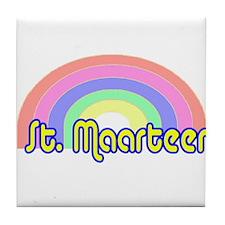 St. Maarten Tile Coaster