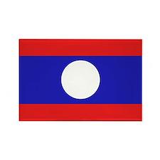 Unique Laos travel Rectangle Magnet