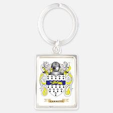 Garrett Coat of Arms (Family Cre Portrait Keychain
