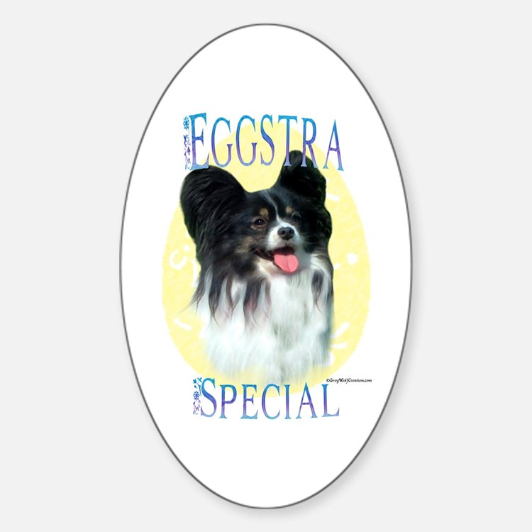 Eggstra Special Papillon Oval Decal