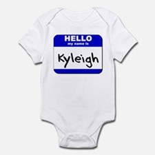 hello my name is kyleigh  Infant Bodysuit