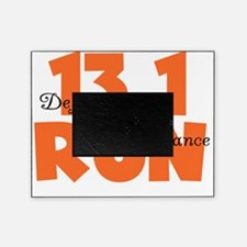 13.1 Run Orange Picture Frame