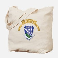 DUI - 1st Bn - 506th Infantry Regt with Text Tote