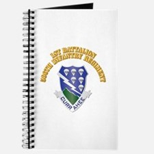 DUI - 1st Bn - 506th Infantry Regt with Text Journ