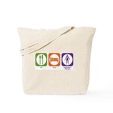 Eat Sleep Respiratory Therapy Tote Bag