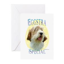 Eggstra Special PBGV Greeting Cards (Pk of 10)