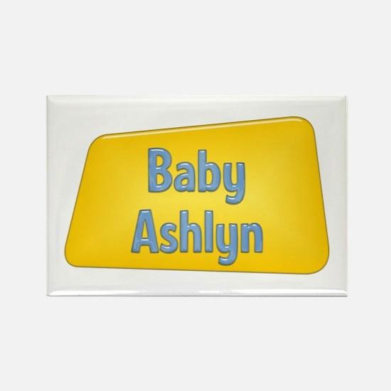 Baby Ashlyn Rectangle Magnet