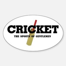 Cricket Oval Decal