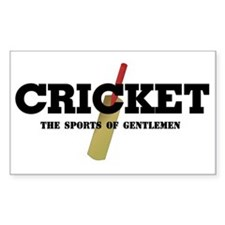 Cricket Rectangle Decal