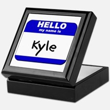 hello my name is kyle Keepsake Box