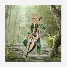 The Elven Forest Tile Coaster