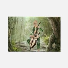 The Elven Forest Rectangle Magnet