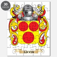 Gavin Coat of Arms (Family Crest) Puzzle