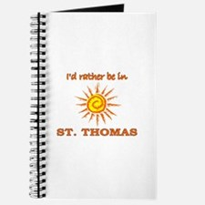 I'd Rather Be In St. Thomas, Journal