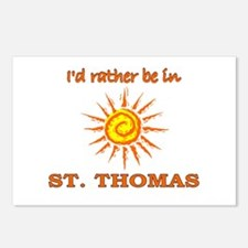I'd Rather Be In St. Thomas, Postcards (Package o