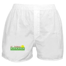 St. Thomas, USVI Boxer Shorts