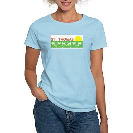 St. Thomas, USVI Women's Light T-Shirt
