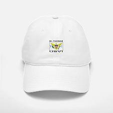 St. Thomas, USVI Flag Baseball Baseball Cap