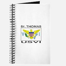 St. Thomas, USVI Flag Journal