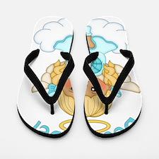 December Birth Girl Flip Flops