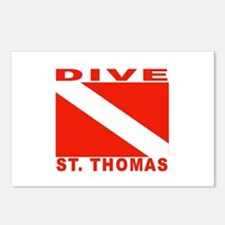 Dive St. Thomas, USVI Postcards (Package of 8)