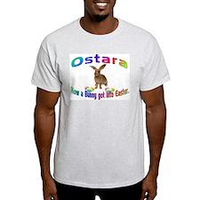 Ostara how a Bunny got into Easter T-Shirt