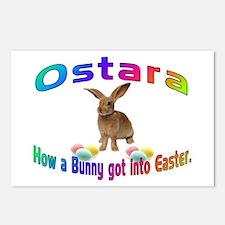 Ostara how a Bunny got into Easter Postcards (Pack