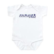 St. Thomas, USVI Infant Bodysuit