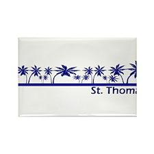 St. Thomas, USVI Rectangle Magnet