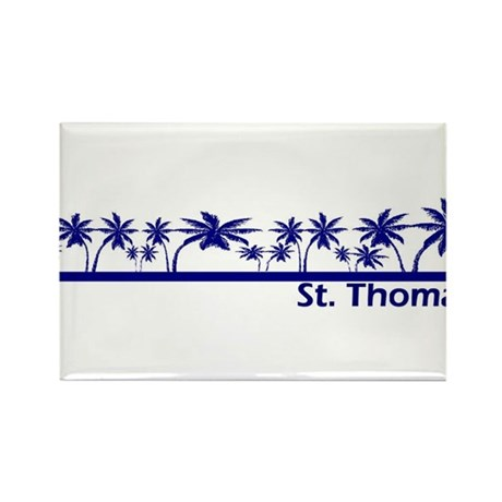 St. Thomas, USVI Rectangle Magnet (10 pack)