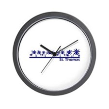 St. Thomas, USVI Wall Clock