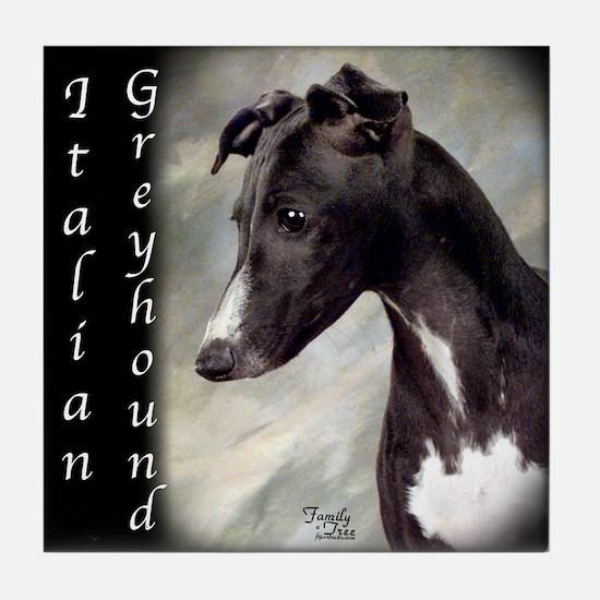Italian Greyhound- IG Tile Coaster