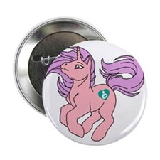 "Little Breastfeeding Pony 2.25"" Button"