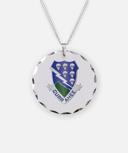 DUI - 1st Bn - 506th Infantry Regt Necklace