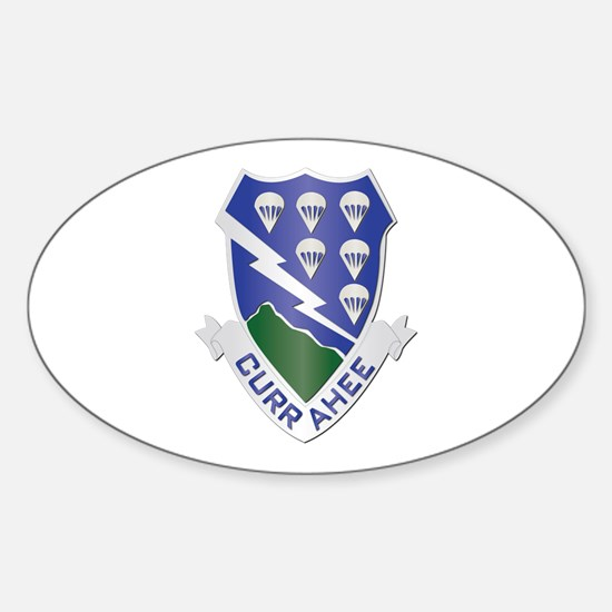 DUI - 1st Bn - 506th Infantry Regt Sticker (Oval)